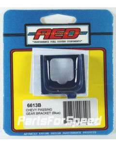AED 6613B GM Throttle Kickdown Cable Bracket Holley / Edelbrock Blue