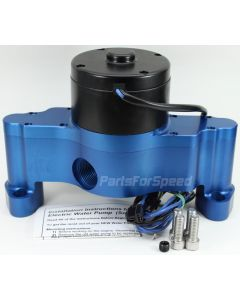 PRP 6300 Small Block Chevy Electric Water Pump SBC Blue